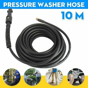 Pressure Washer Sewer Drain Cleaning Hose Pipe Tube Cleaner For Karcher K1-K7 UK