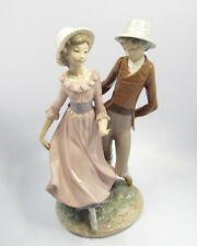 """Nao by Lladro Figurine Young Man & Woman Dancing, 12"""""""