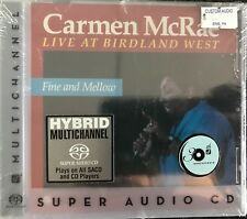 "Carmen McRae ""Live at Birdland West"" Super Audio CD NEW"