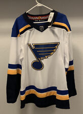 Rare Discontinued St Louis Blues Adidas Away Jersey White Size 52 New With Tags!