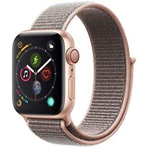 AppleWatch Series4 GPS+Cellular 40mm Gold Aluminum Case Pink Sand Sport Loop