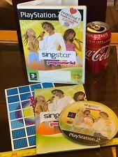 SINGSTAR SING STAR POPWORLD PS2 Playstation 2 Video Game