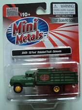 CLASSIC METAL WORKS  1960 FORD STAKE BED TRUCK  DEL MONTE  1/87 HO PLASTIC