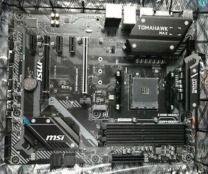 MSI B450 Tomahawk MAX ATX AM4 Motherboard AMD Ryzen 5000 Support