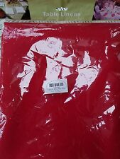 Red tablecloth -  rectangle - 60 x 102 inches - Brand New