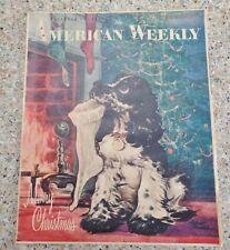 American Weekly Magazine Staehle Butch Dog Cocker Spaniel December 25, 1955