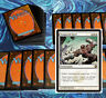 mtg WHITE ROBOTS DECK Magic the Gathering rares 60 cards tempered steel