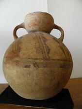 vase a offrande précolombienne en terre cuite culture Chançay Pérou