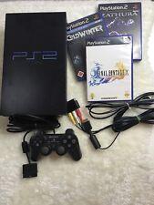 Sony PlayStation 2 / PS2 SCPH-30004 - Konsole mit 3 Spielen Sofort Spielbereit
