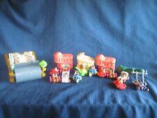 1993 Hanna Barbara Flintstones Vehicle Flintmobile + Amblin Other Figures Lot 21