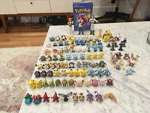 Pokemon TOMY PVC Vtg CGTSJ Auldey Lot  Figure 90s Toy Nintendo Kanto Collection