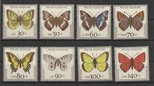 BRD Bund Jugend  1991 Schmetterlinge butterfly   postfrisch ** komplett