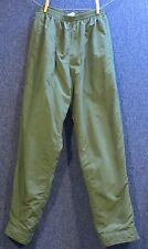 Patagonia XS Green Fleece-Lined Snow Pants