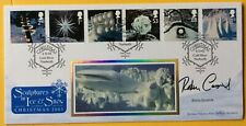 ROBIN COUSINS Olympics, Figure Skater, Dancing On Ice, Signed 2003 Christmas FDC