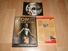 TOMB RAIDER 1 STARRING LARA CROFT DE CORE DESIGN PARA PC BUEN ESTADO CAJA FINA