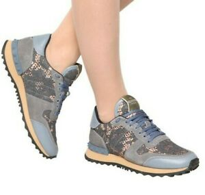 VALENTINO Rockrunner lace sneakers shoes - RRP $800