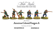 American colonial Rangers-WG7 for 24-Warlord Games