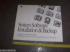 Vintage Apple Macintosh Centris 650 Computer - SYSTEM INSTALL BOOKLET (no CD)