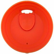 Orange Vino2Go  or Vino2Go XL Replacement Slide Top Lid for Wine Glass Tumbler