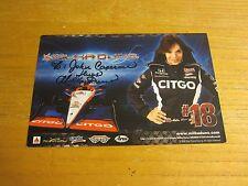 Milka Duno Driver Autographed Signed 5.5X8.5 Photograph NASCAR Racing
