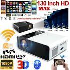 23000Lumens 4K 1080P HD WiFi Bluetooth Mini 5D LED Home Theater Projector Cinema