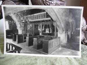 RP The Rood Screen Hubberholme Church - Walter Scott W789 Postcard