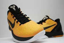 Nike Kobe VI 6 Del Sol Bruce Lee Size 11 - Light Bulb Yellow Black - 429659 700