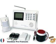 Kit Alarme Maison Sans Fil Ligne Téléphonique Fixe Notice En Français KR-5800