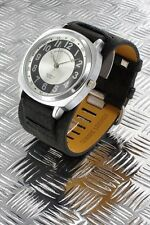 orologio uomo Georgie Valentian bracciale in pelle - nuovo - a054