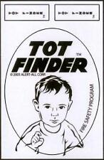 Tot Finder Decals NEW STYLE Reflextive Material