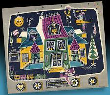 Âge Calendrier de l'avent > Enfants Radio MAISON > env. 1955 dans le télé design