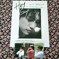 GOT7 JINYOUNG Hey Guys PHOTO BOOK̟ + DVD + 3 photo cards