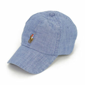 Polo Ralph Lauren Baseball Cap - Light Chambray