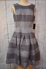 Tommy Hilfiger Striped Fit & Flare Dress, Size 10