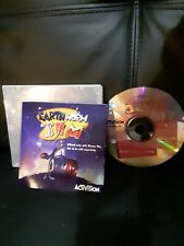 Earthworm Jim (Pc, 1995) Amazing Condition, Includes Manual