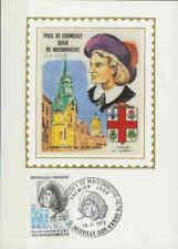 Frankrijk FDC Carte 1972 (006) - Paul de Chomedey