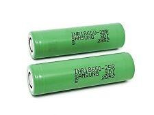 2 x Samsung Li-ion Battery HP SDI INR18650-25R -2500 mAh 3,7 V - Unprotected