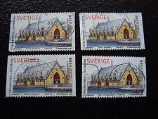 SUEDE - timbre yvert et tellier n° 2023 x4 obl (A29) stamp sweden