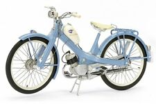 SCHUCO Motorised Pushbike NSU Quickly Blue Motobike 450662600 Scale 1:10