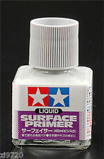 Tamiya Liquid Surface Primer Gray Grey 40ml Bottle 87075