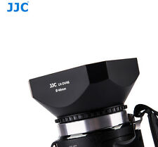 JJC Screw Mount 46mm camcorder Lens Hood with Cap for SONY JVC CANON LH-DV46B