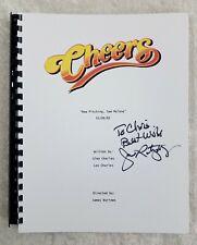 "John Ratzenberger ""Cliff"" Signed Autograph ""Cheers"" Full Episode Script 1983"