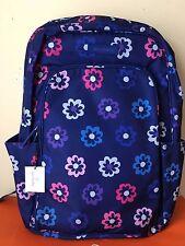 NWT VERA BRADLEY Laptop Backpack Ellie Flowers!!! *Retail $118*