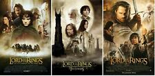 The Lord of The Rings Trilogy Movie Poster Bundle - NEW - 11x17 13x19 - USA