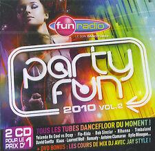 Fun Radio presents Party Fun 2010 vol. 2 (2 CD + DVD)