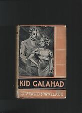 Kid Galahad Francis Wallace First Edition First Printing Book Into Film Scarce