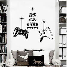 Gaming Wall Art Decal Mural Sticker   Boys Bedroom Video Games