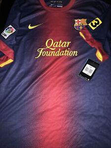 Barcelona 2012/2013 Home Shirt Jersey Nike Adult Small