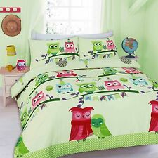Owl Duvet Cover Sets Kids Children Toddler Quilt Cover Bedding Set Quilt Set
