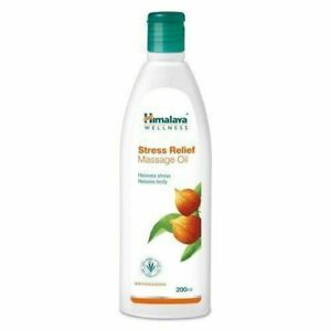 HIMALAYA STRESS RELIEF MASSAGE OIL GIVES RELIEF FROM FATIGUE . 6155